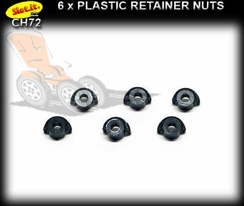 SLOT.IT NUTS CH72 - Set H.R.S. chassis nuts