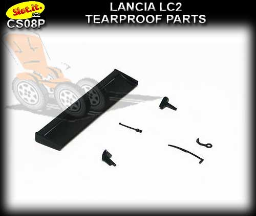 SLOT.IT BODY PARTS CS08P - Lancia LC2 Tearproof Parts