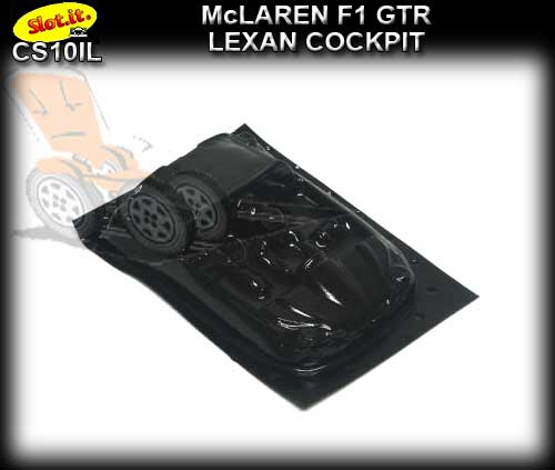 SLOT.IT BODY PARTS CS10il - McLaren F1 GTR Lexan Cockpit