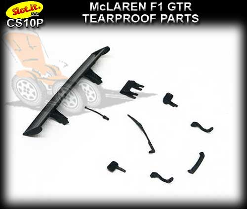 SLOT.IT BODY PARTS CS10P - McLaren F1 GTR Tearproof Parts