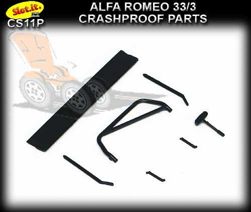 SLOT.IT BODY PARTS CS11P - Alfa Romeo 33/3 Tearproof Parts