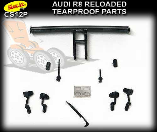 SLOT.IT BODY PARTS CS12P - AUDI R8C Reloaded Tearproof parts