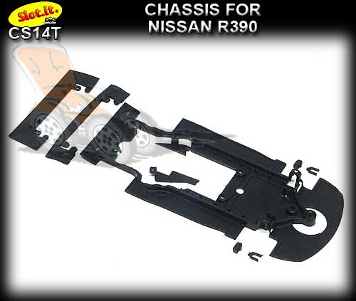 SLOT.IT CHASSIS CS14T - Nissan R390 chassis