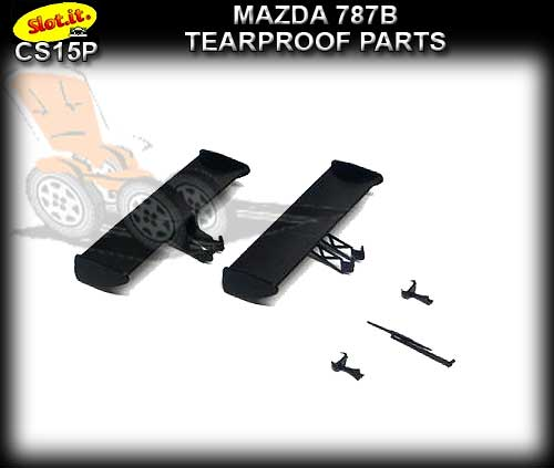SLOT.IT BODY PARTS CS15P - Mazda 787B Tearproof Parts