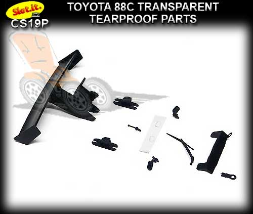 SLOT.IT BODY PARTS CS19P - Toyota 88CTearproof Parts