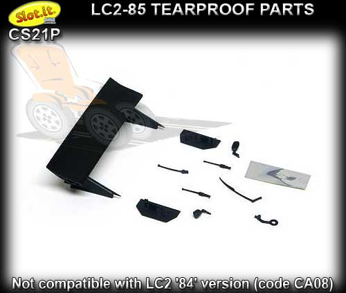 SLOT.IT BODY PARTS CS21P - Lancia LC2-85 Tearproof Parts