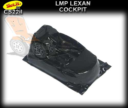 SLOT.IT BODY PART CS22IL - Lola LMP Lexan Cockpit