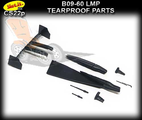 SLOT.IT BODY PARTS CS22P - Lola B09-60 LMP Tearproof Parts