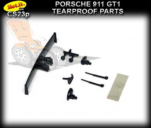 SLOT.IT BODY PARTS CS23P - Porsche 911 GT1 Tearproof Parts