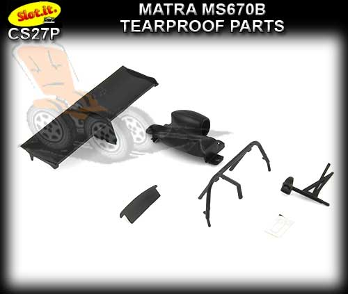 SLOT.IT BODY PARTS CS27P - Matra MS670B Tearproof Parts