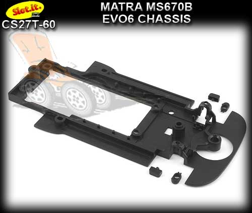 SLOT.IT BODY PARTS CS27T-60 - Matra MS670B EVO6 chassis