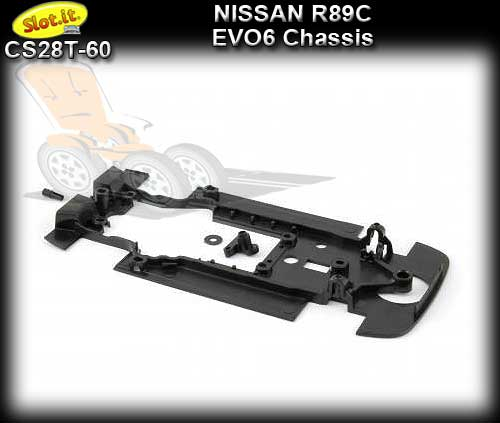 SLOT.IT BODY PARTS CS28T-60 - Nissan R89C EVO6 chassis