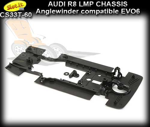 SLOT.IT BODY PARTS CS33T-60 - Audi R8 LMP chassis