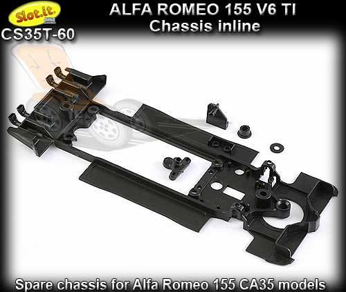 SLOT.IT BODY PARTS CS35T-60 - Alfa Romeo 155 chassis