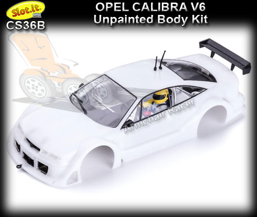 SLOT.IT BODY KIT CS36B - Unpainted Body Kit - Opel Calibra V6