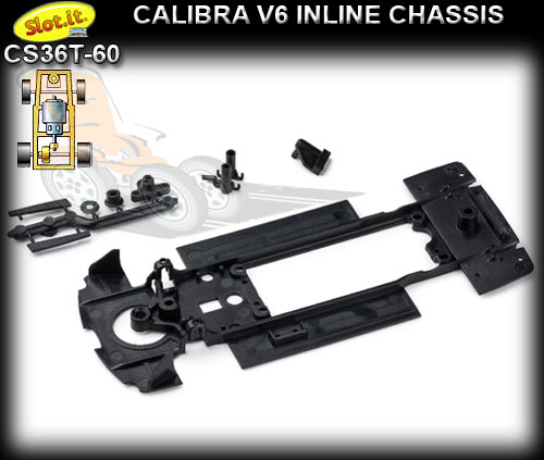 SLOT.IT BODY PARTS CS36T-60 - Opel Calibra V6 chassis