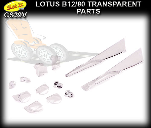 SLOT.IT BODY PARTS CS39V - Lola B12/80 LMP transparent parts