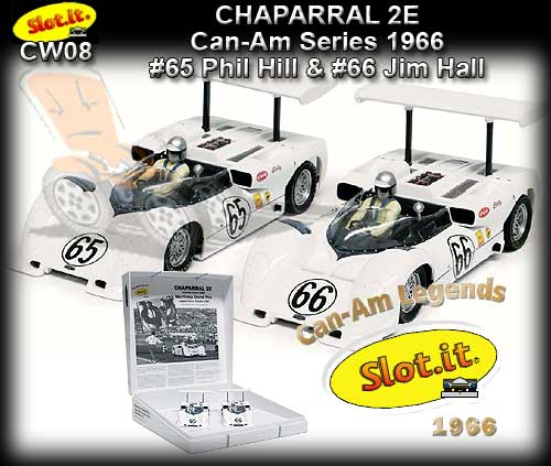 SLOT.IT CW08 - Twin Chaparral 2E Can-Am Laguna Seca 1966 LTD.ED.