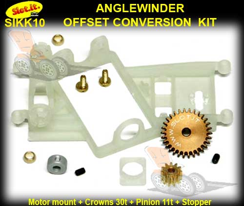 SLOT.IT CONVERSION KIT SIKK10 - Anglewinder 'Offset'
