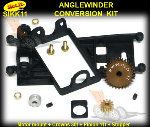SLOT.IT CONVERSION KIT KK11 - Anglewinder STANDARD