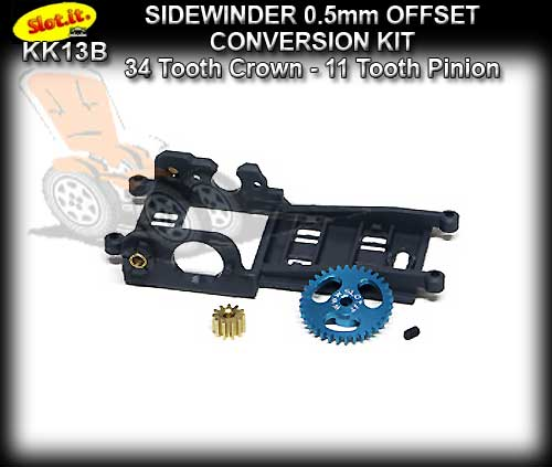 SLOT.IT CONVERSION KIT SIKK13B - Sidewinder 0.5mm Offset