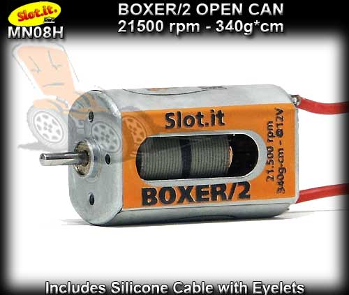 SLOT.IT MOTOR MN08H - Boxer/2 - 21500 rpm - Open Can