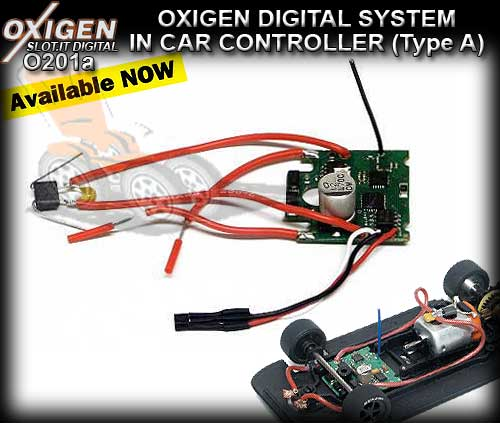 SLOT.IT OXIGEN DIGITAL O201A - In Car Controller (Type A)