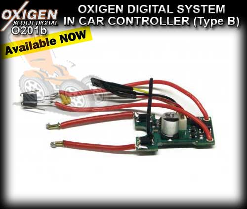 SLOT.IT OXIGEN DIGITAL O201B - In Car Controller (Type B)