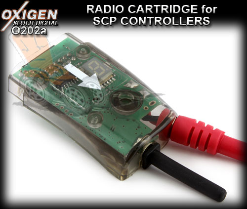 SLOT.IT OXIGEN DIGITAL CARTRIDGE O202A - Radio Cartridge