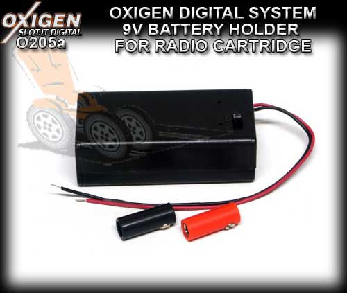 SLOT.IT OXIGEN DIGITAL O205A - Battery Holder Radio Cartridge