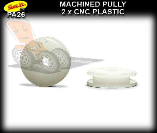SLOT.IT AXLE PULLY PA26 - Plastic CNC Machined pulley