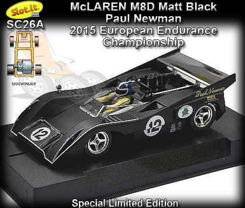 SLOT.IT SC26A - McLaren M8D 2015 Europe Enduro Championship #12