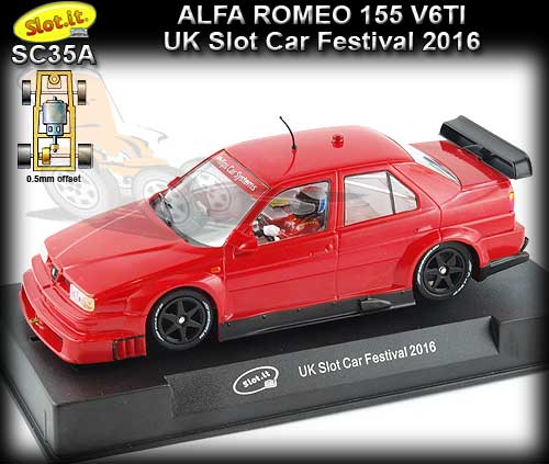 SLOT.IT SC35A - Alfa Romeo 155 V6 TI - UK Slot Car Festival 2016