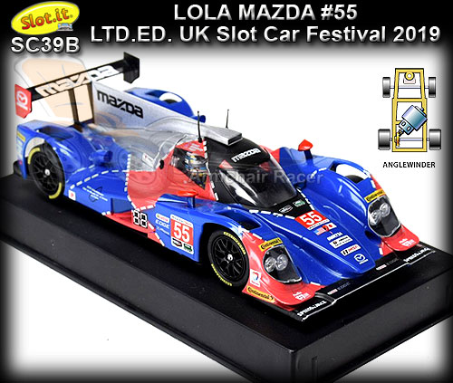 SLOT.IT SC39B - Lola B12/80 - made for UK Slot Car Festival 2019