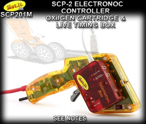 SLOT.IT HAND CONTROLLER SCP201m - Electronic oXigen & Timing box