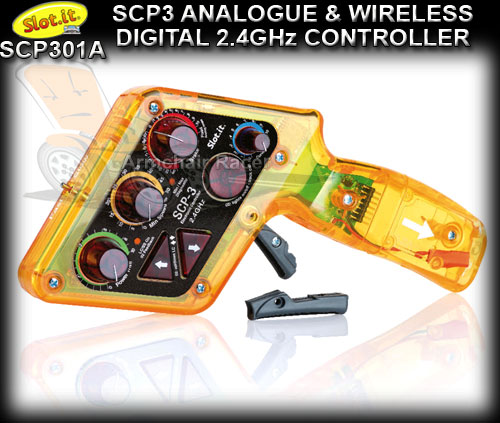 SLOT.IT HAND CONTROLLER SCP301A - Analogue and Wireless 2.4GHz