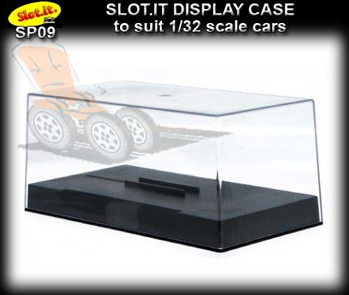SLOT.IT DISPLAY CASE SP09 - Complete Transparent Display Box