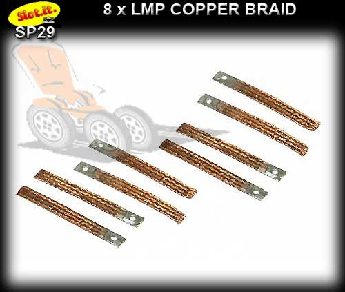 SLOT.IT BRAID SP29 - LMP Copper Braids x 8