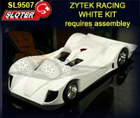 SLOTER SL9507 - Zytek Racing Unpainted kit - Req. Assembley