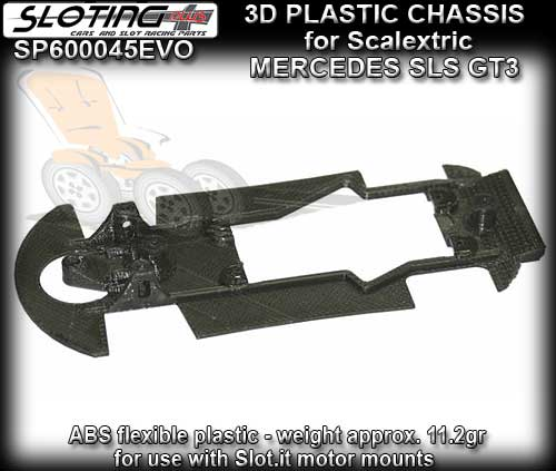 SLOTING PLUS 3D CHASSIS SP600036EVO - Scalextric Mercedes SLS