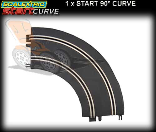 SCALEXTRIC START TRACK - START 90 degree curve