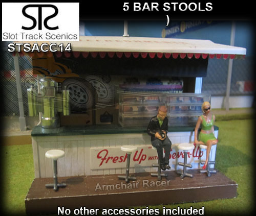 STS SCENERY ACC14 - Bar stools x 5