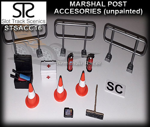 STS SCENERY ACC16 - Marshal post accessories