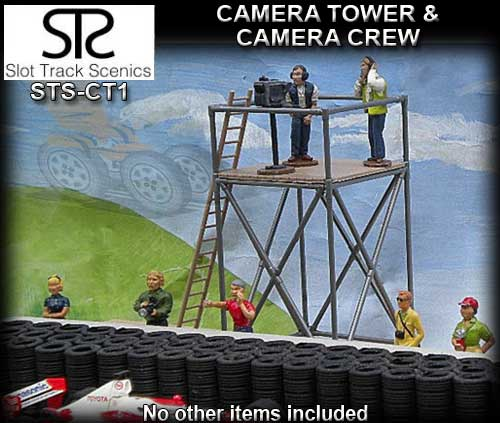 STS SCENERY CT1 - Camera Tower with camera and crew