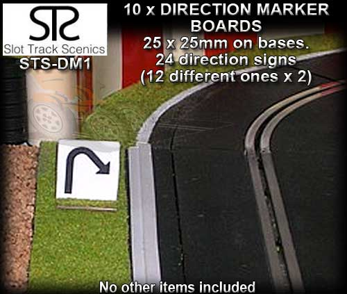 STS SCENERY DM1 - Direction Markers x 10