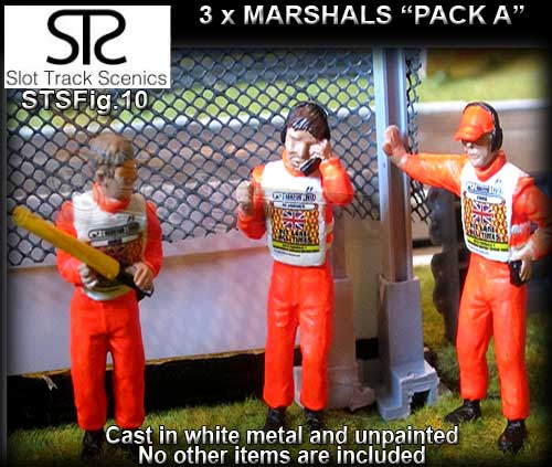 STS FIGURES FIG10 - Marshalls - pack A - 3 figures
