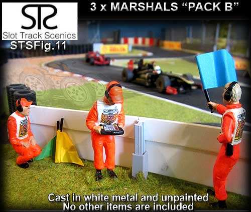 STS FIGURES FIG11 - Marshalls - pack B - 3 figures