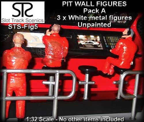 STS FIGURES FIG5 - Timing Stand Crew - pack A - 3 figures