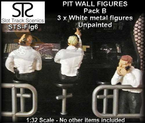 STS FIGURES FIG6 - Timing Stand Crew - pack B - 3 figures