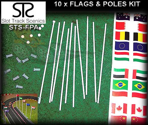 STS FLAGS FP-A - Flags and Poles (pack A)